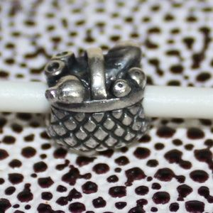 Retired/Rare Authentic PANDORA PICNIC BASKET Charm